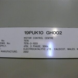 200 AMP Main Switch Electrical Cabinet