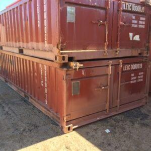 20ft Half Container Open Top with doors