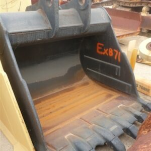 2m wide Excavator Bucket with Teeth