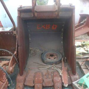 1.5m wide Excavator Rock Bucket with Teeth