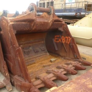 2.1m wide Excavator Rock Bucket with Teeth