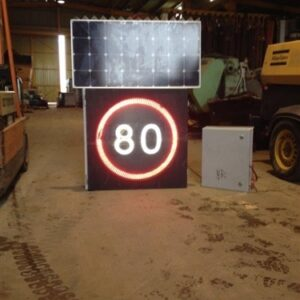 Electronic Speed Limit Signs