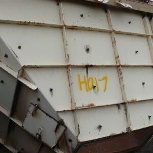 Hopper 4.8x3.5x2.1m high