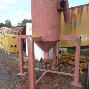 3 cubic meter discharge Hopper