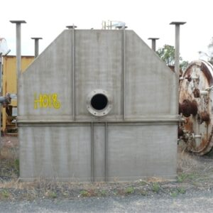 Stainless Steel Hopper 1.7x 2.6 x 2.4m (H)