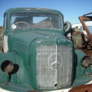 Mercedes Benz Diesel Truck