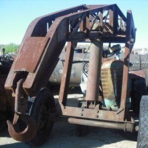 Massy Harris Tractor - Crane