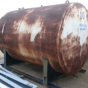 11,780L Steel Tank on skid base