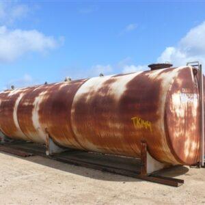 32,800L Steel Tank on skid base