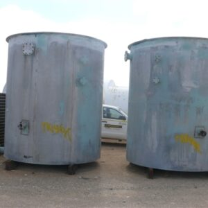 14,700L Vertical Stainless Steel Tanks