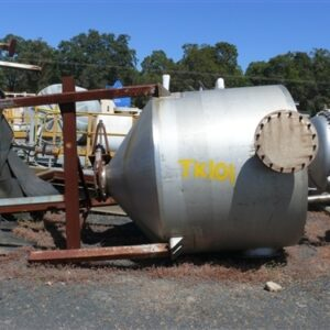 4000L Stainless Steel Vertical Tank on Stand
