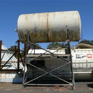 13,800L Diesel Tank on Stand
