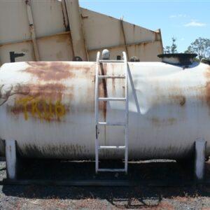 5,500L Steel oil waste tank