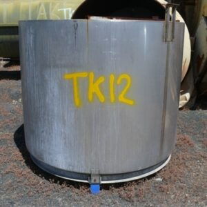 2,000L Stainless Steel Tank