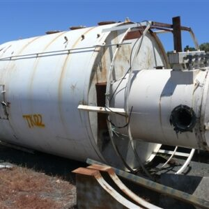 32,000L Steel Tank with small dust collector