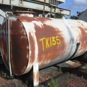 5,400L Horizontal Steel Oil Tank