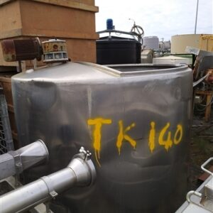 2593 Litre Agitating Mixer Stainless Steel Tank