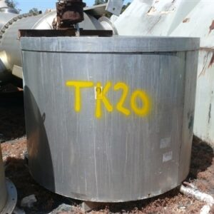 1,800L Stainless Steel Tank