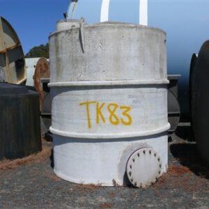 8,000L Fiberglass Tank