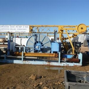 Groundwater Drill/Pump Rig