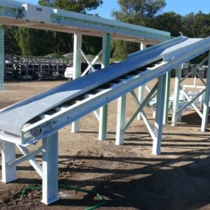 6m Process Conveyor 45 Degree rise