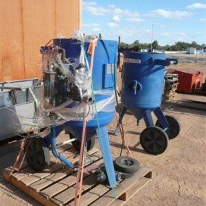 Sandblast Hopper 200ltr capacity