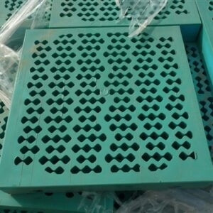 Shaker screen mesh