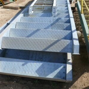 Assorted Stairs, some with handrails