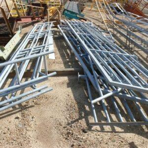 Walkway rails