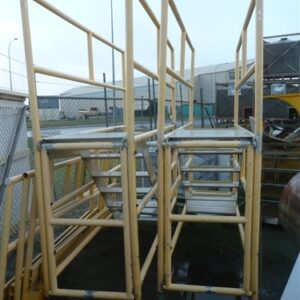 Fall Protection Scaffold for Trucks
