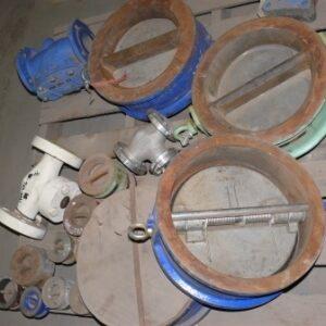 300⌀ check valves