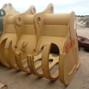 2m wide Excavator Rake Bucket to suit 85 tonne