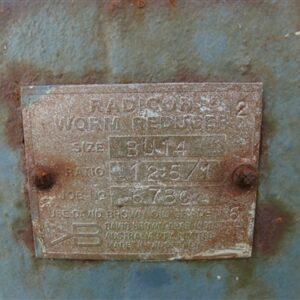 Radicon 12.5:1 Gearbox