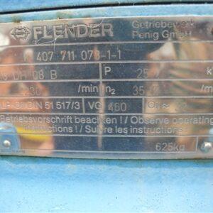 Flender 63:1 Gearbox