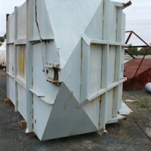 Discharge Hopper - 2.3m x 2.4m x 3.8m H