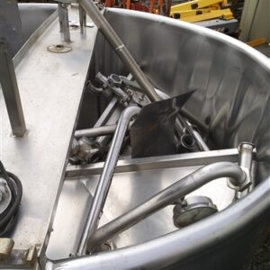 2277 Litre Agitating Mixer Stainless Steel Tank