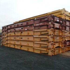 40ft Flat Racks