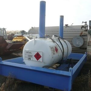 Bunded 2000 Litre Diesel Tank