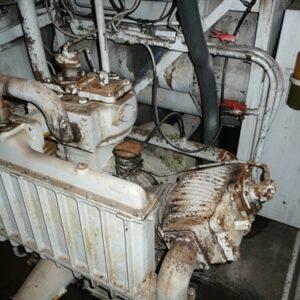 Locomotive V16 Diesel Engine