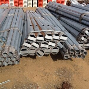 Brand new Surplus Galvanised Light Poles