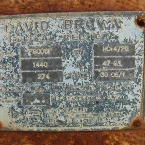 30:1 David Brown Gearbox