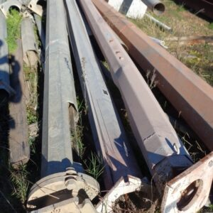 Galvanised Light Poles