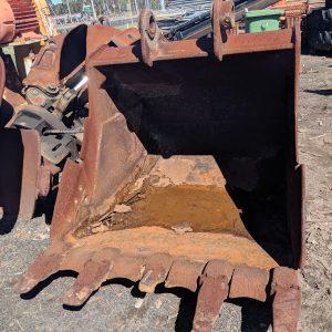Excavator rock bucket