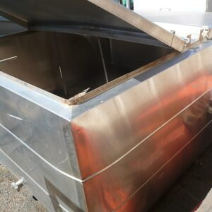 Stainless Steel Mixing Tank 2.1m x 1.8m x 0.8