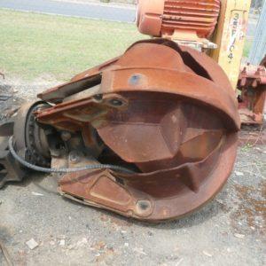 rotating excavator grapple