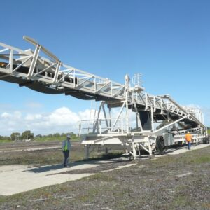 Mobile Ship Loader Conveyor