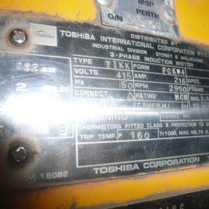 Toshiba 132kw Electric Motor