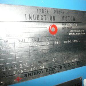 Shinko Electric Motor 1050kw
