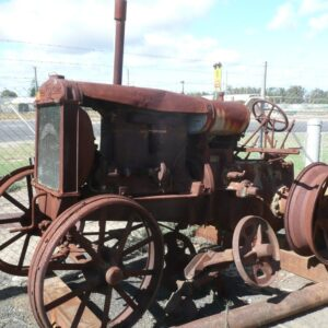 Antique Twin City Tractor