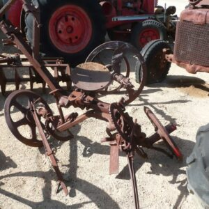 Antique Twin Disc Plough